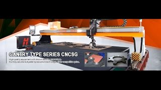 Hypertherm EDGE PRO 5 axis control system CNC bevel plasma cutting machine in Philippines