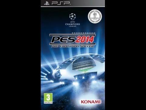 Pro Evolution Soccer 2014 (PSP) PPSSPP 1 0 Emulator For Windows Gameplay