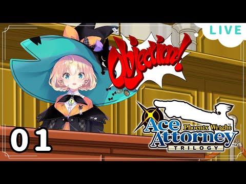 【Ace Attorney #1】First Playthrough! LET'S DO CASE 1!✨  ☆⭒NIJISANJI EN ✧ Millie Parfait ☆⭒ #SPOILERS