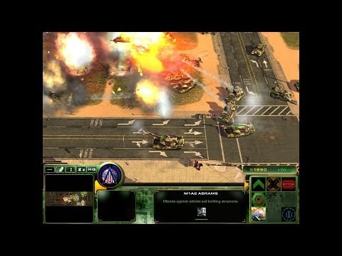 Act Of War: Direct Action - Hard 3 Vs 3 - U.S. Army