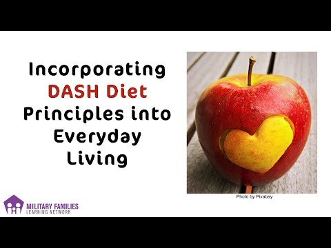 Incorporating DASH Diet Principles Into Everyday Living