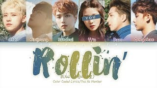 B1A4 (비원에이포) — 「Rollin'」 (6 members ver.) (Color Coded Lyric…