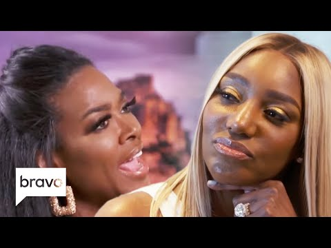 Nene Leakes Tells Kenya Moore To Shut Up Mid-Fight With Cynthia Bailey | RHOA Highlights (S12 Ep9)