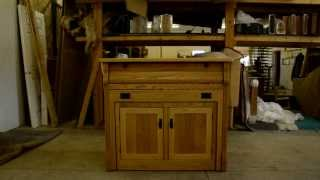 Frontier Island Buffet With Pull Out Table