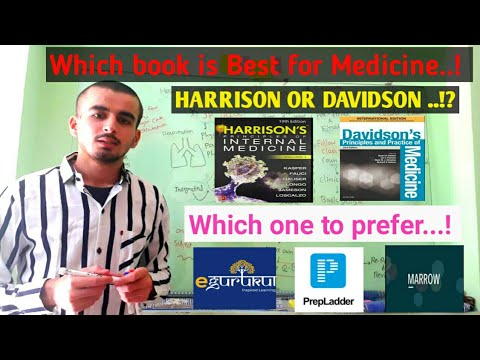 Best book for medicine.? | Harrison or Davidson which one to choose .!?