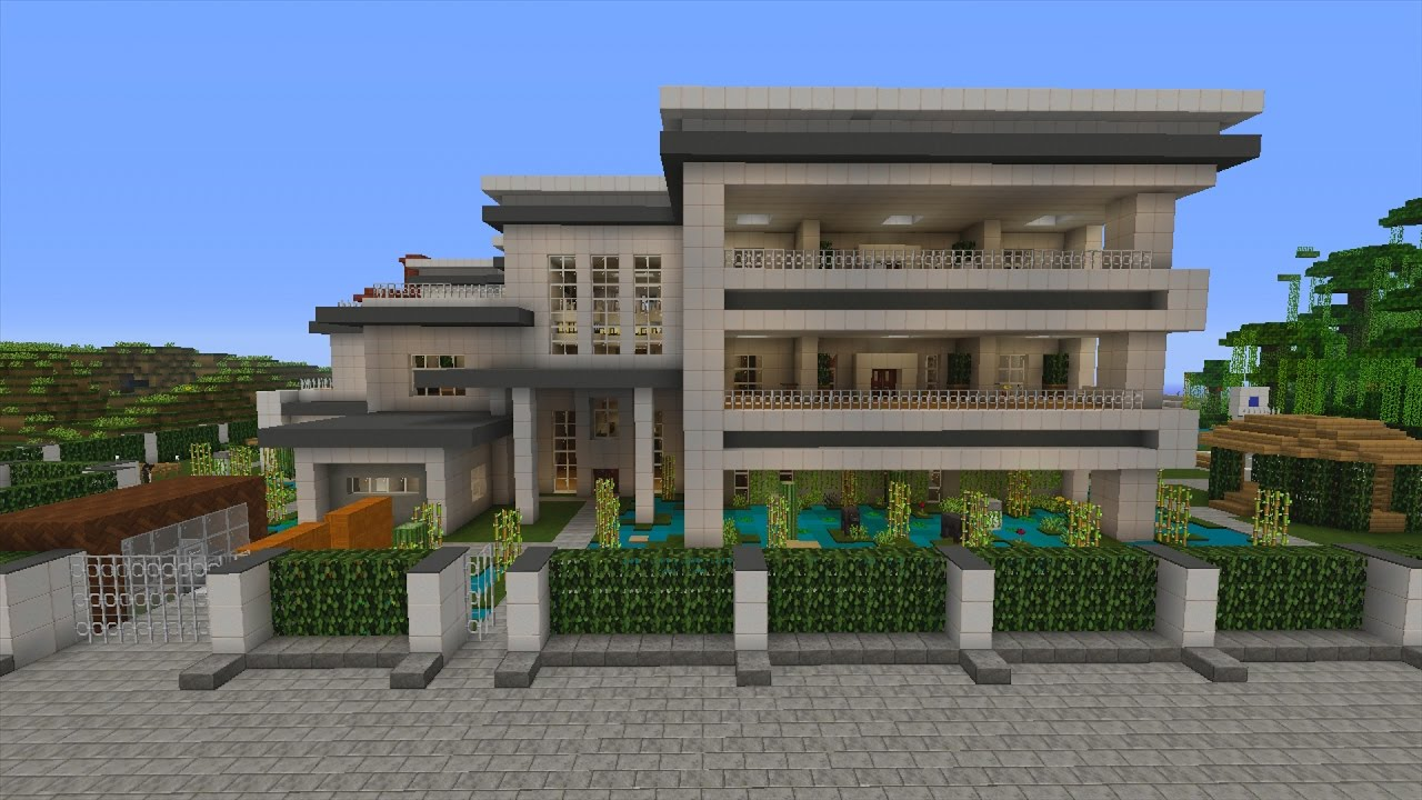 Angelic Mansion Minecraft Xbox Murder Mystery Modern Mansion 2 Youtube