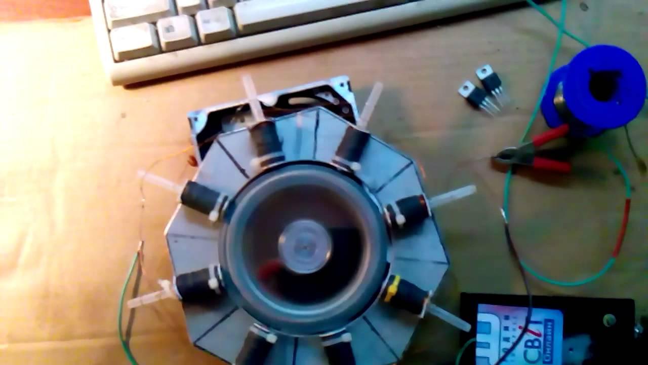 шкондин магнитный двигатель схема