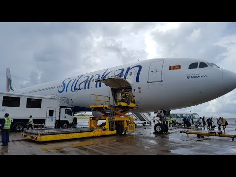 SriLankan Airlines | Business Class | A330-300 | Colombo-Male | *Full flight*