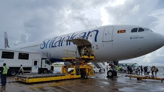 SriLankan Airlines   Business Class   A330-300   Colombo-Male   *Full flight*