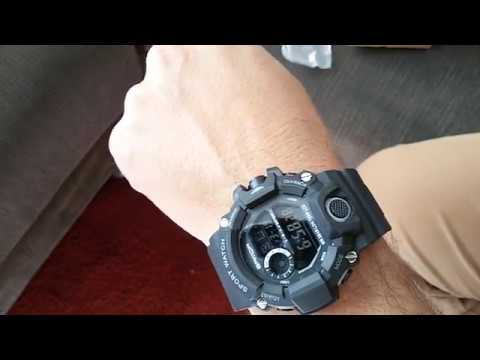<b>Sanda</b> 326 <b>Men Sport</b> Digital Watch - PRETO - YouTube
