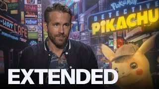 Ryan Reynolds Reveals Daughter's Reaction To 'Detective Pikachu' | EXTENDED