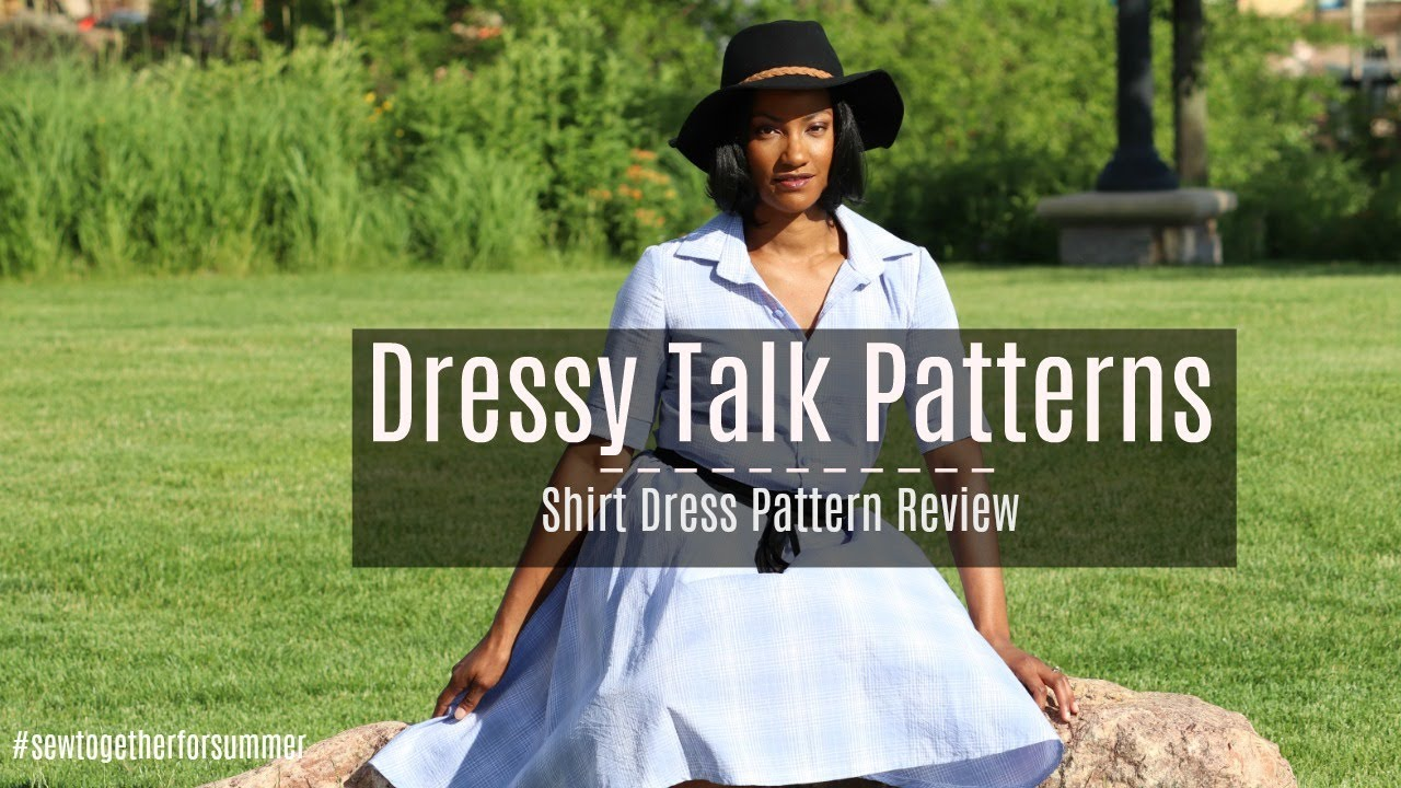 The Reveal Sewtogetherforsummer Challenge Dressy Talk Shirt