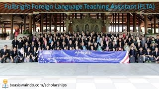 Fulbright Foreign Language Teaching Assistant (FLTA) AMINEF - USA [150415]