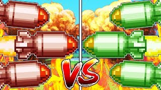 MINECRAFT 3VS3 RED VS GREEN MISSILE WARS | JeromeASF