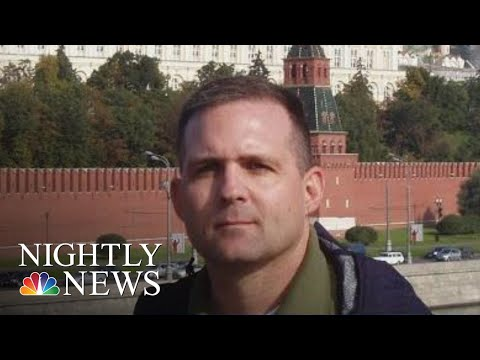 American Ex-Marine Charged With Espionage In Russia | NBC Nightly News