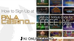 How to Sign Up at Pala Online Casino | $25 FREE With Code OVBONUS | Online Slots, Blackjack & More!