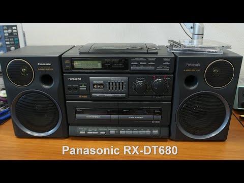 Panasonic RX-DT680 Ремонт, капитальная чистка и негр в космосе