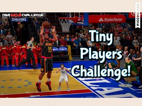 Nba 2k16 Tiny Players With Funny Jump Shots Challenge!! Al Horford is A Lot Bigger than Us :(