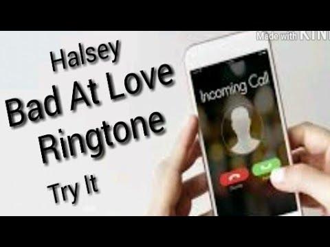 Halsey - Bad At Love | Ringtone | Try it (Instrumental)