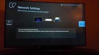 First Time Setup 4K Samsung Curve TV 55