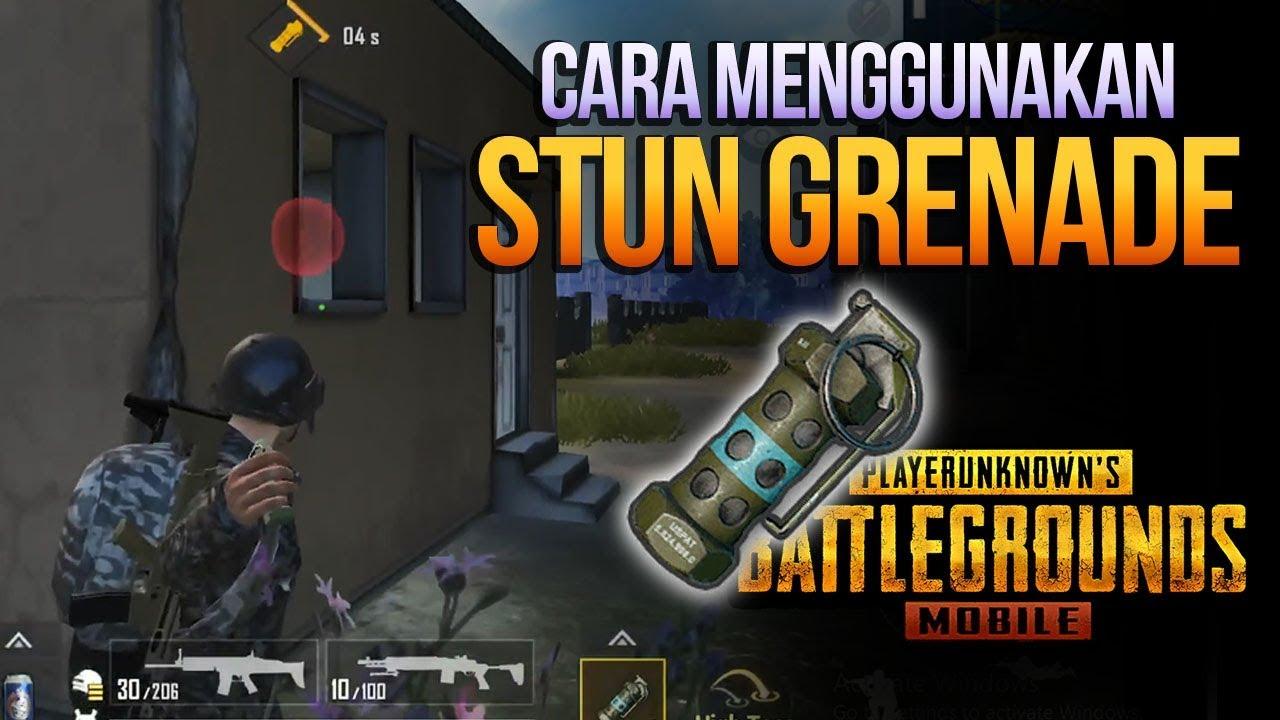 Tips Trik Cara Menggunakan Stun Grenade Flashbang Di Pubg Mobile