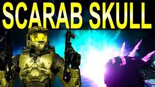 Halo 2 Anniversary SCARAB Skull Gameplay (SCARAB GUN)