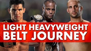 The History of The UFC Light Heavyweight Belt