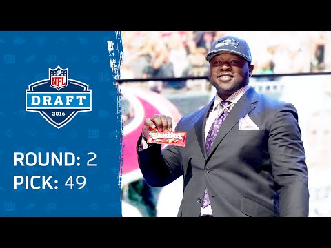 Jarran Reed (DT) Offers Skittles to the Commissioner | Pick 49: Seattle Seahawks | 2016 NFL Draft