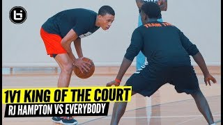 1V1 KING OF THE COURT! RJ Hampton Vs Everybody