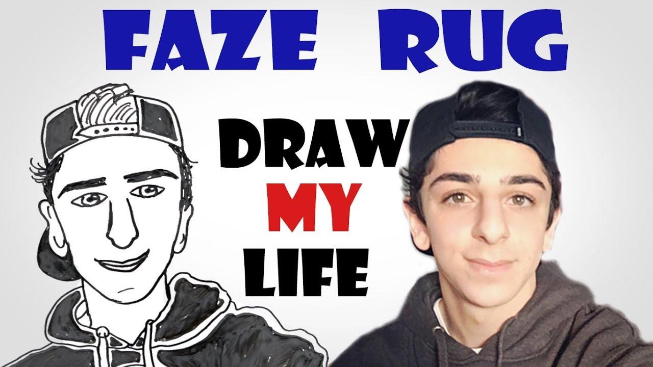Draw My Life : FaZe Rug - YouTube