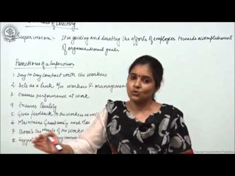 Supervision Class XII Bussiness Studies by Ruby Singh