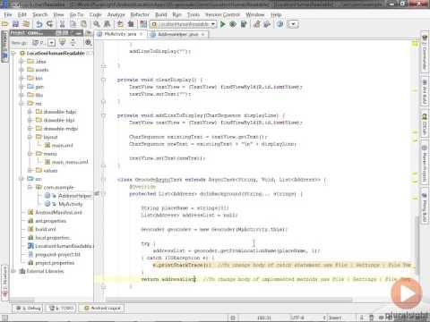 Network Gate Demo - Using Geocoder in a UI friendly manner Human-Readable Location Information