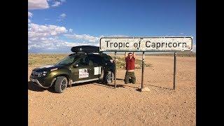 Намибия. Застряли на Дастере в пустыне Намиб. Дюны Соссусфлей. Доехали до ЮАР. Кругосветка.