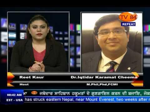 TV84 News 5/12/15 Interview with Dr.Iqtidar Cheema (Scholar) on RAW's involvement in Pakistan