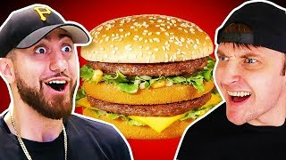 Who Can Cook The PERFECT Big Mac?! *TEAM ALBOE FOOD COOK OFF CHALLENGE*