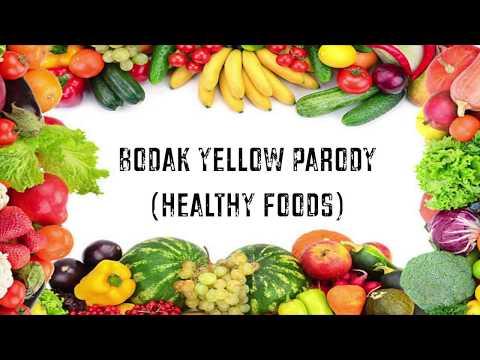 Cardi B HEALTHY FOODS Bodak Yellow Parody