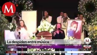 Despiden con mariachi a Edith González