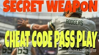 OVERPOWERED COVERAGE BREAKER! BLOWS THE TOP OFF THE DEFENSE MULTIPLE WAYS! MADDEN 19 MONEY PLAY TIPS