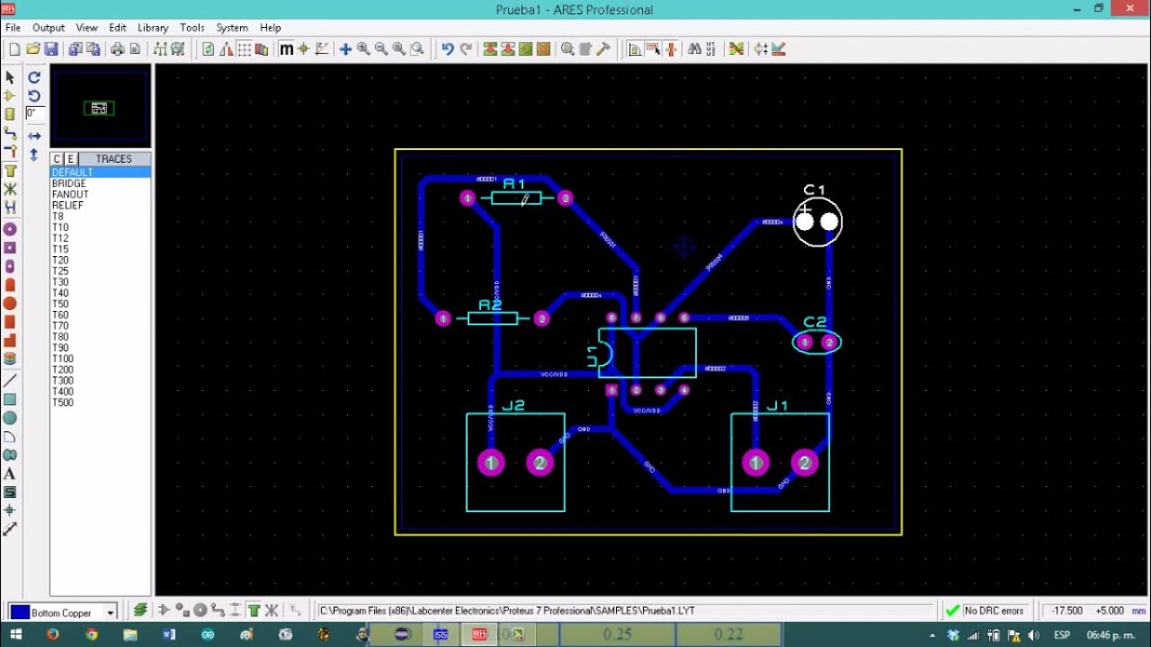 Confira O Easyeda Software Para Simulao De Circuitos E Design And Analyze Simulate A Simple Circuit In Proteus Isis Hd Youtube Como Crear Electrnicos Impresos Pcb Con Prouteus Tutorial Completo