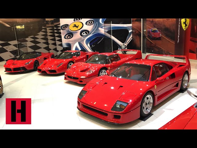 Insane zero mile car collection! The Unprofessionals do Abu Dhabi Part 2