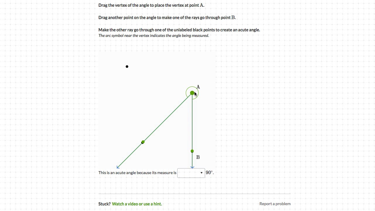 Drawing Acute Right And Obtuse Angles Hindi Class 9 India