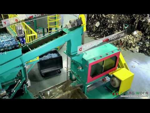 LDPE Banana Agriculture Film Washing Line & Extruder 2016 in HK