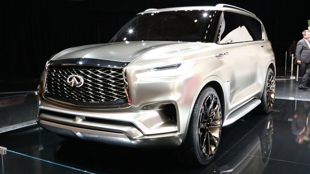 infiniti qx80 monograph concept - 2017 new york auto show