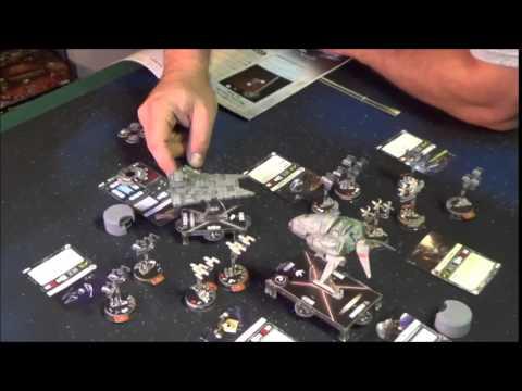 star wars armada wave 1 battle report part 1
