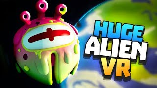 SPACE ALIEN ATTACKS EARTH! - Rick and Morty: Virtual Rick-ality VR - VR HTC Vive Pro Gameplay