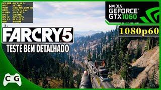 Far Cry 5 Gameplay Teste GTX 1060 3gb + i5 4460 No Alta e Ultra 1080p #49