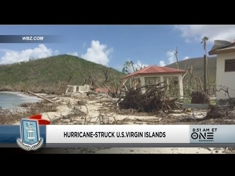 More Than 40 Days After Hurricanes Hit US Virgin Islands, Much Of The Island Is Still Without Power