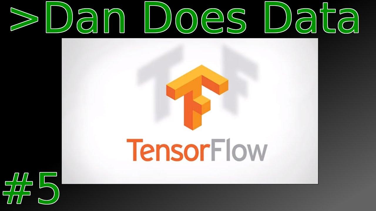 Dan Does Data: Tensor Flow, Mahalanobis Distance Implementation 1