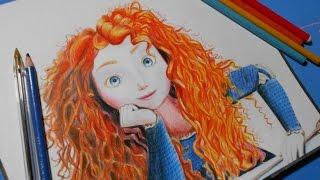 Brave (Drawing Merida) | Valiente (Dibujo de Merida)