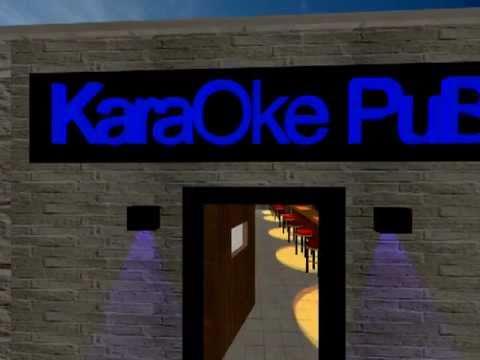 3D Studio Max Karaoke PuB (Preview)